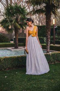 Look invitada boda 2019 lunares