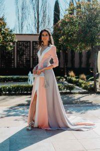 Vestido largo invitada hermana novia