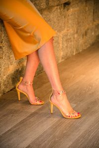 Zapatos amarillo invitada boda