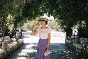 look pantalon invitada boda
