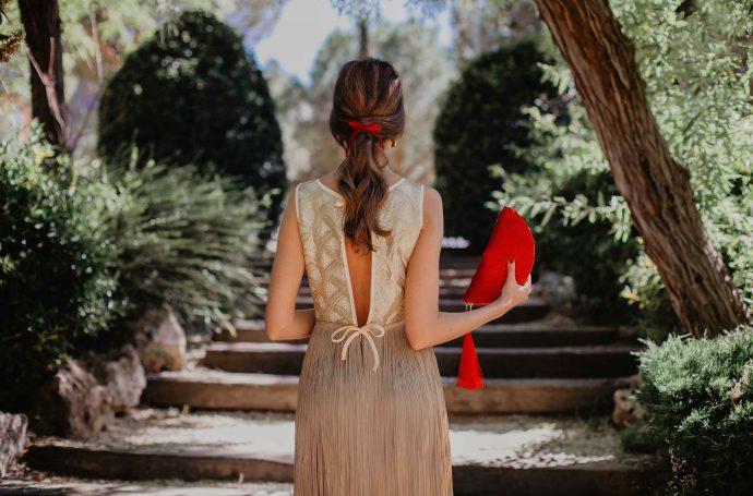 Vestido flecos fatima angulo