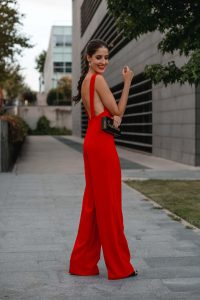 look invitada boda mono
