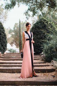 vestido largo invitada noche apparentia