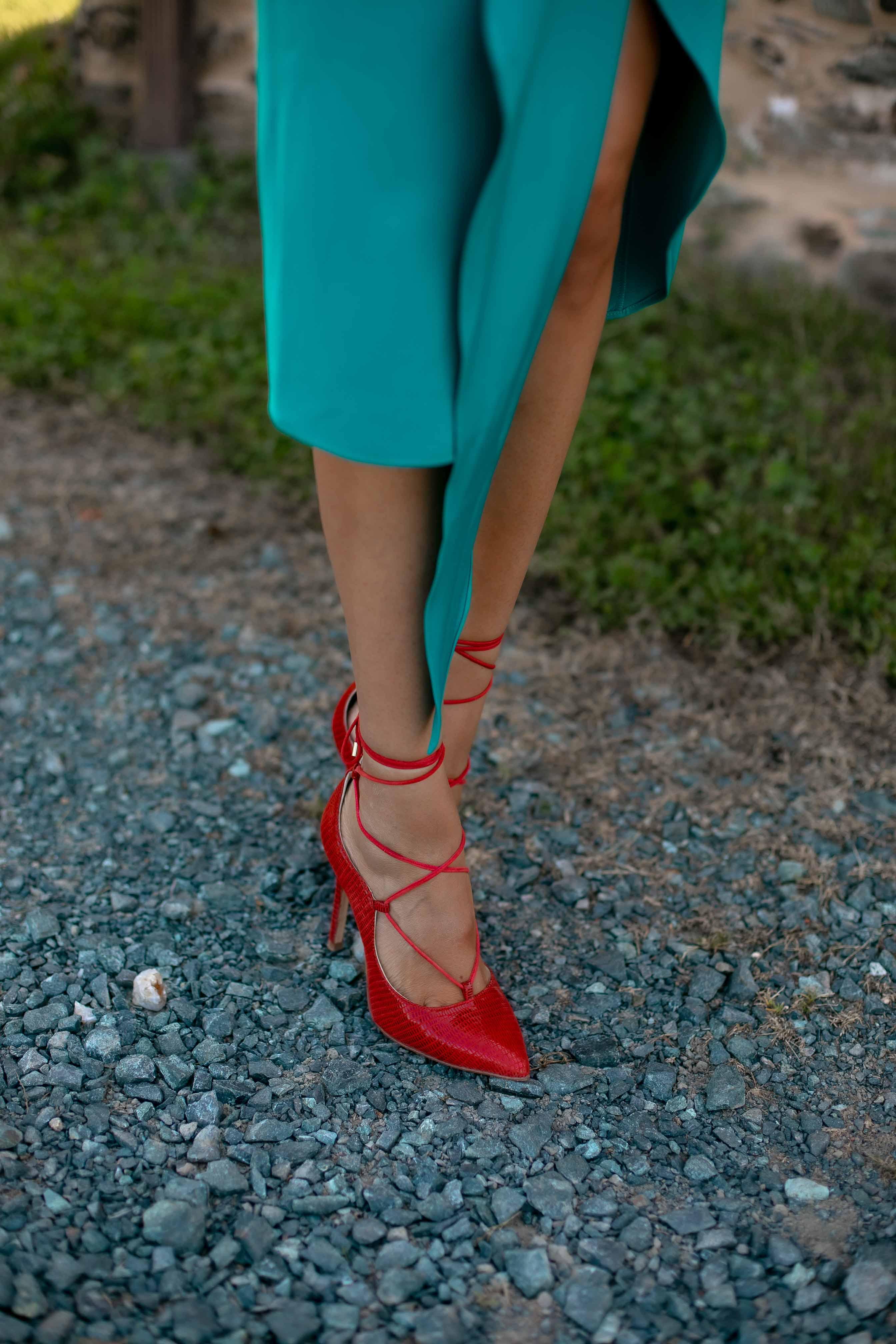 zapatos comodo invitada