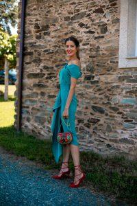 conjunto invitada boda falda