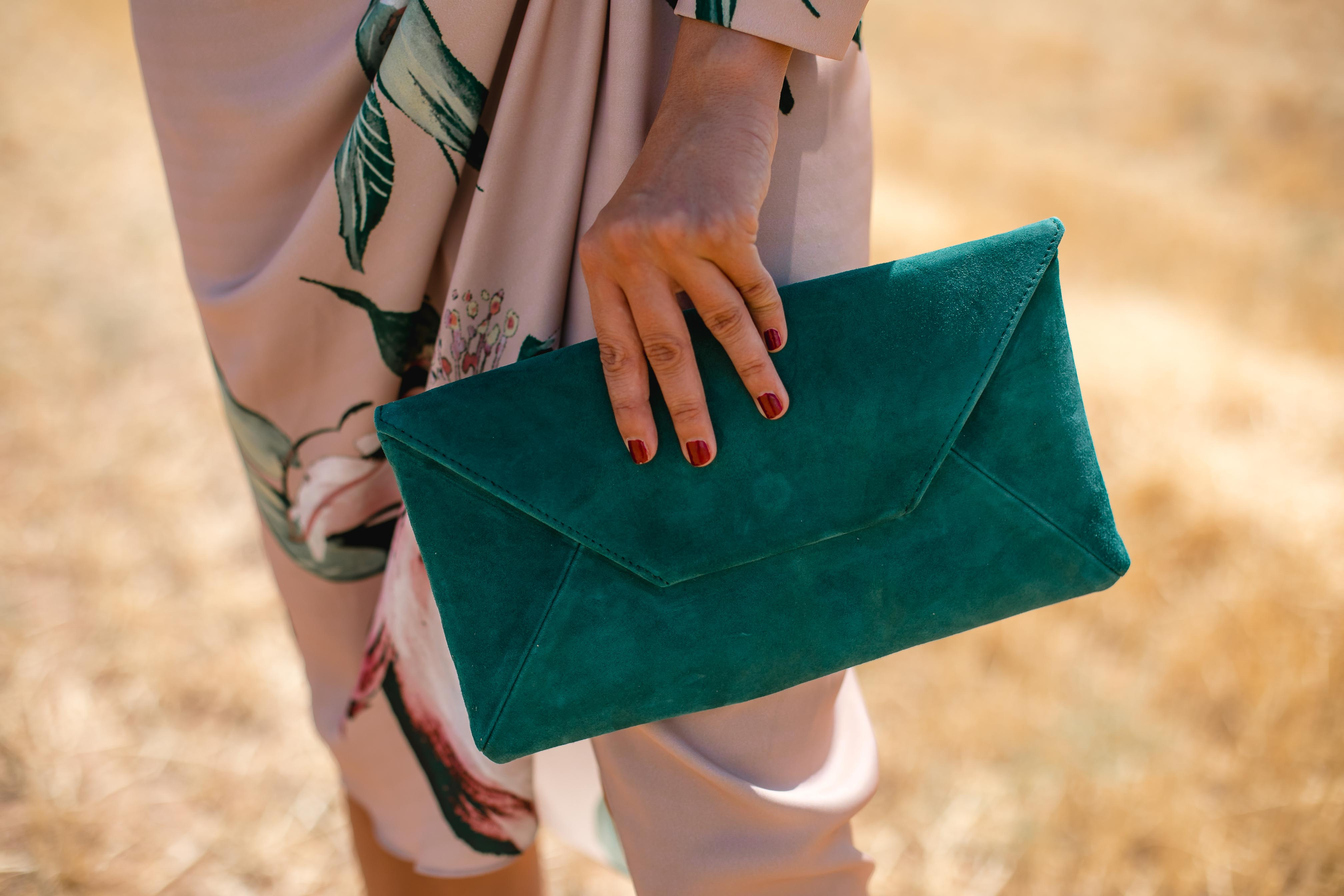 cartera verde