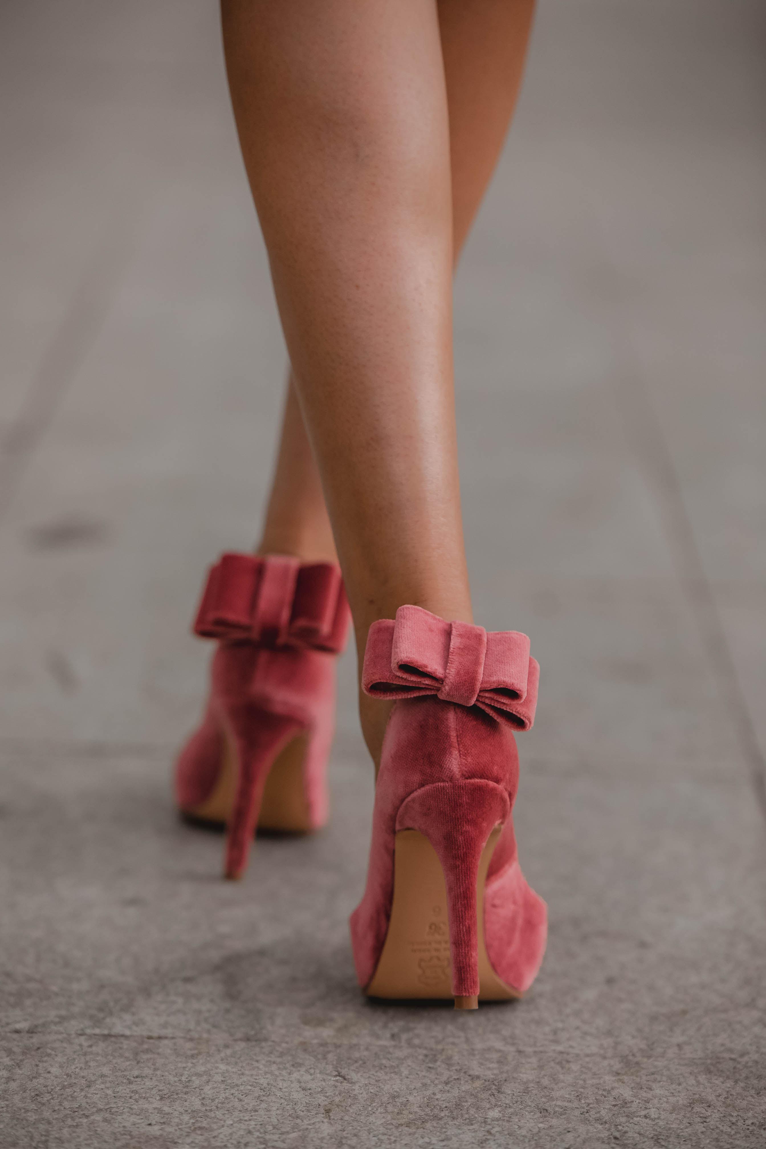zapatos lazo terciopelo salo madrid
