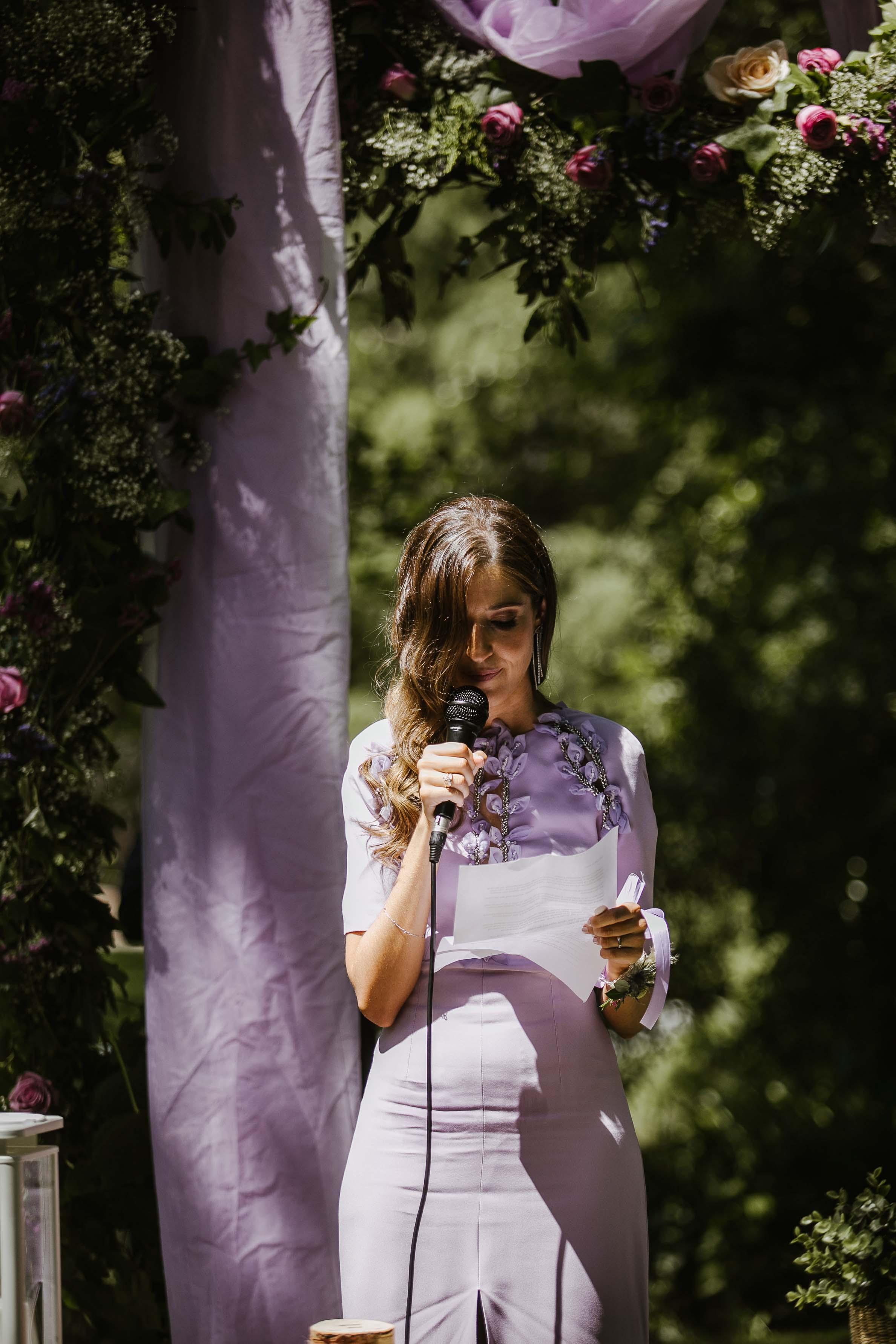 discurso hermana novia boda