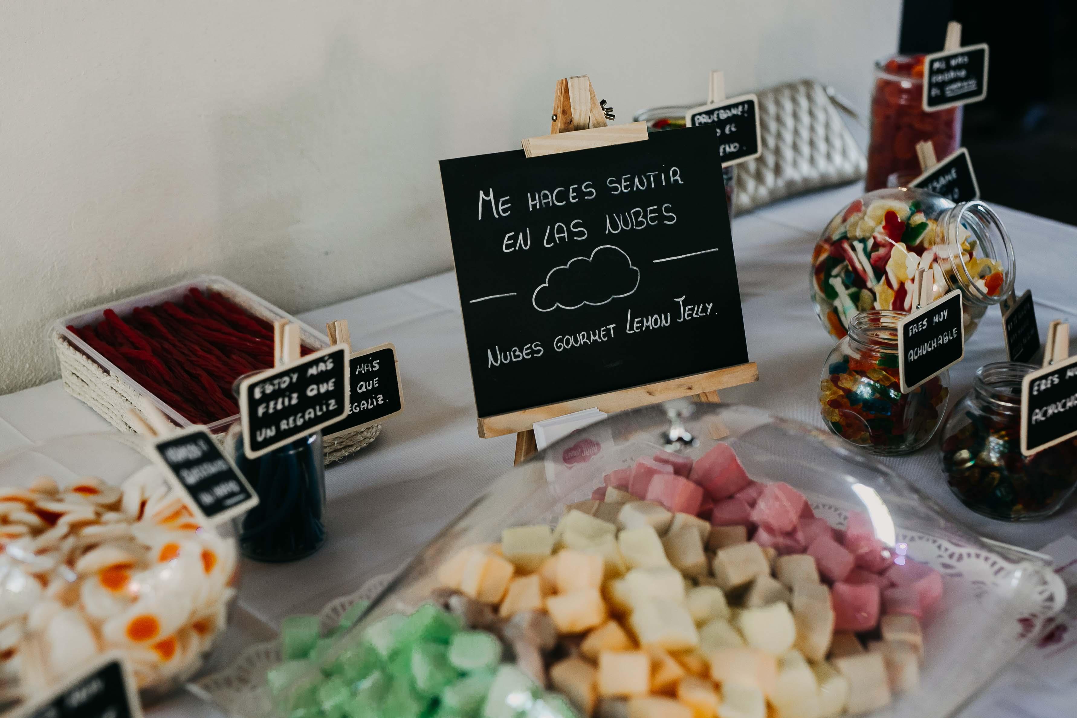mesa dulce golosinas boda