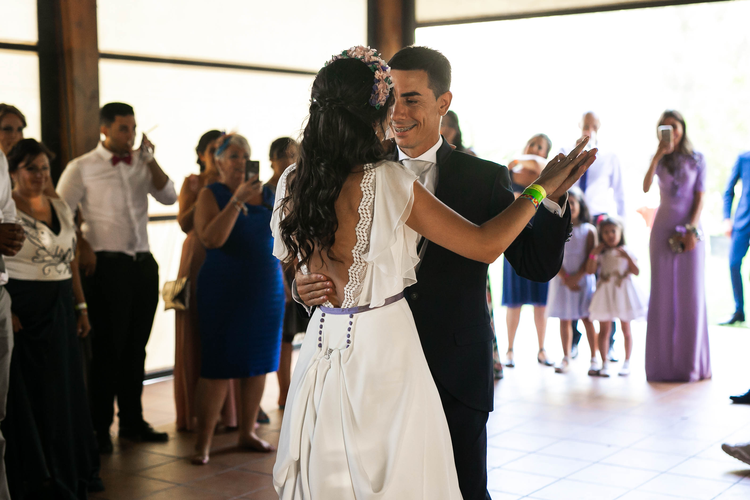 Baile novios boda