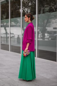 look invitada boda blazer