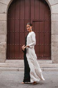 vestido túnica boda invitada