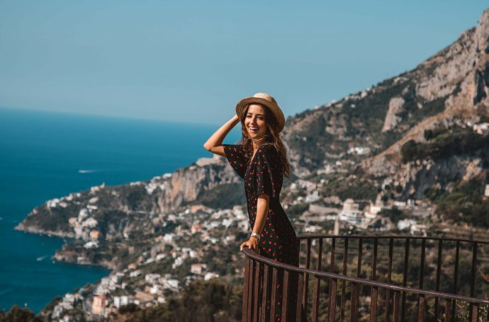 ruta coche costa amalfiana