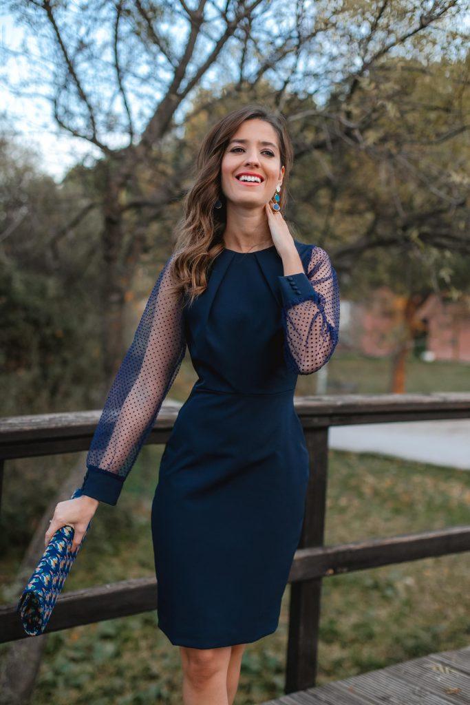 vestido plumeti invitada comunion