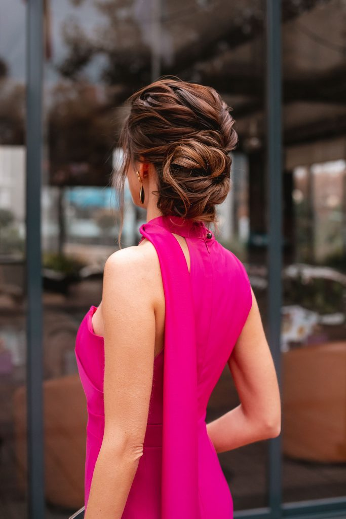 peinado invitada novia tonya stylist