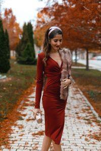 Vestido ajustado invitada boda