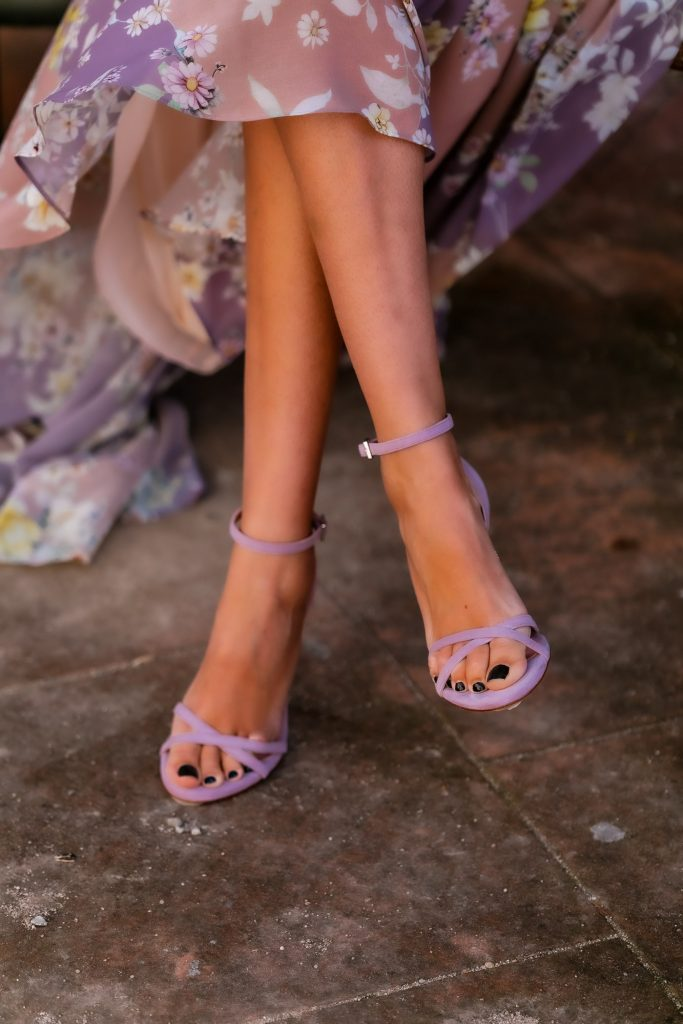 zapatos malva lila invitada