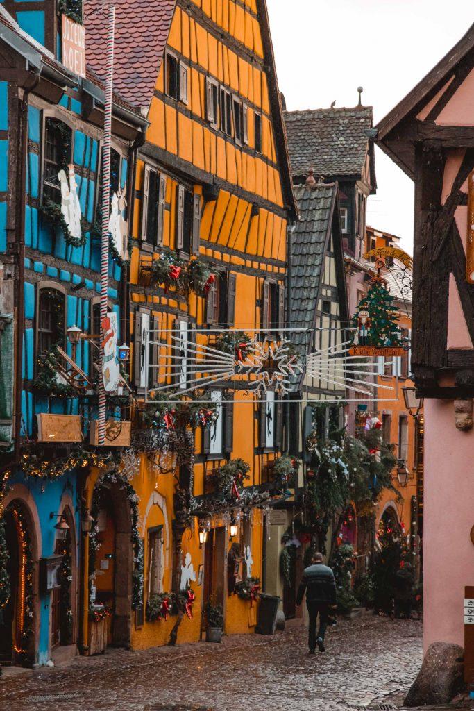 Pueblos mas bonito alsacia Riquewihr