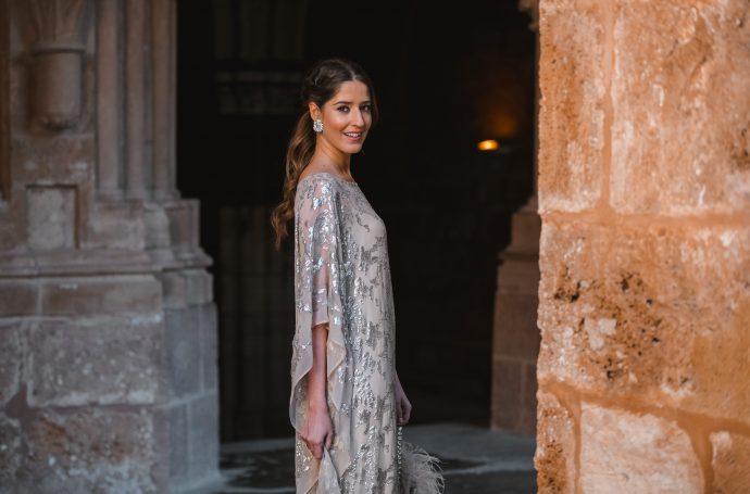 vestido tunica kaftan invitada boda