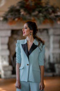 look invitada traje chaqueta