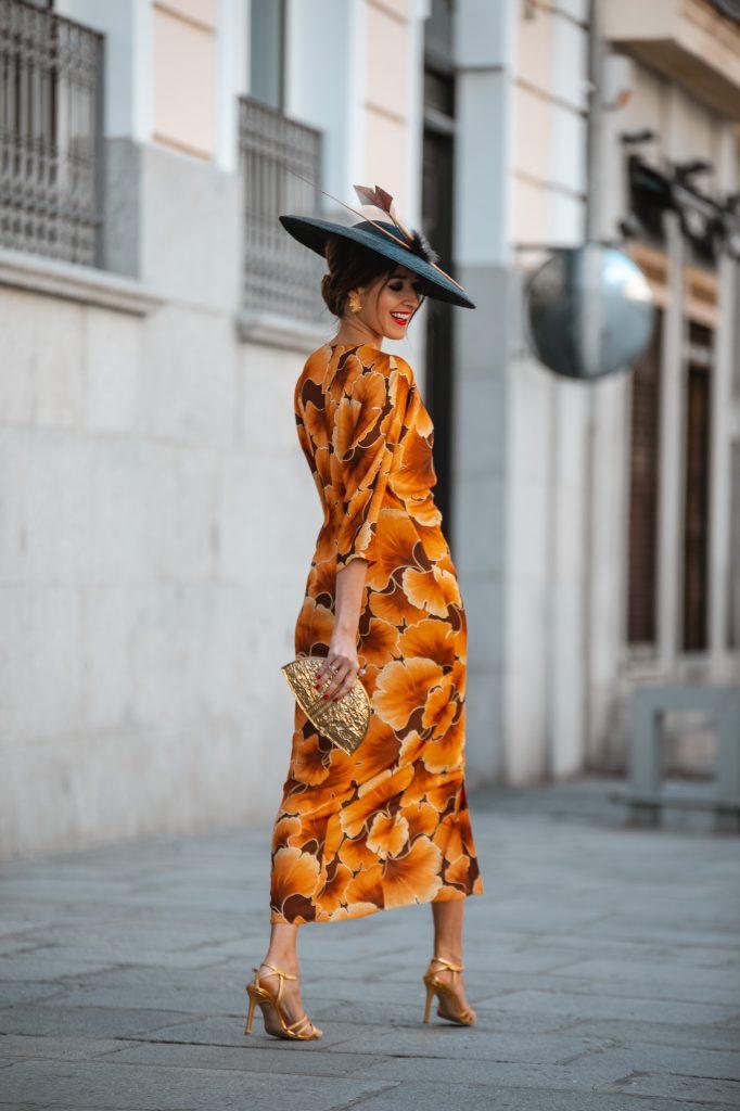 look invitada vestido midi