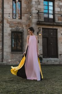 look invitada boda 2020 vestido largo