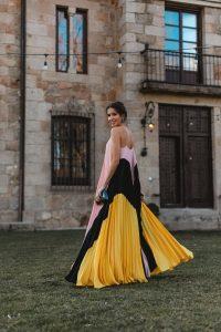 look invitada boda 2020 vestido largo