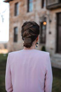 peinado cresta invitada boda