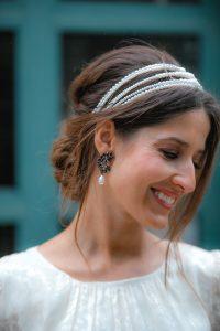 pendientes perla invitada boda