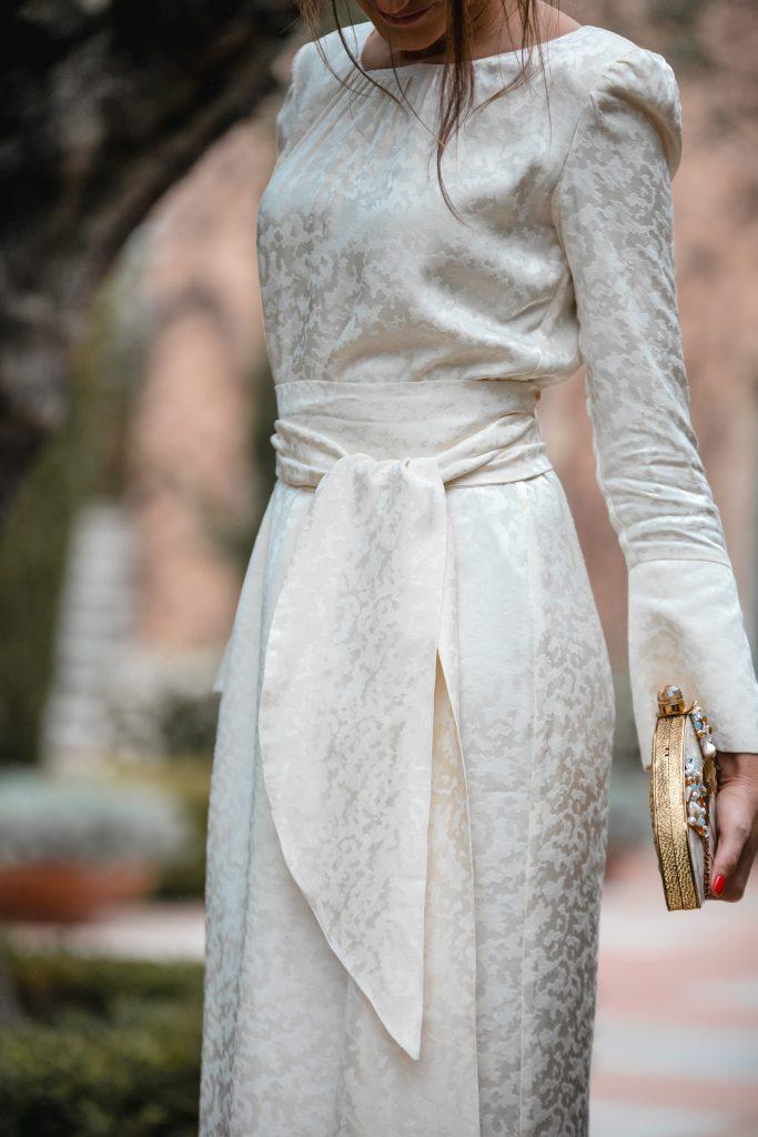 vestido blanco invitada comunion bautizo