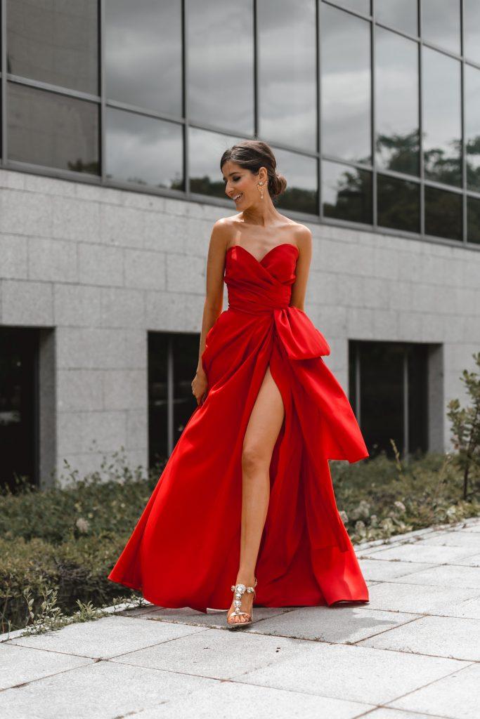 Vestido rojo invitada perfecta