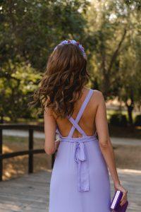 invitada perfecta vestido lavanda lady pipa