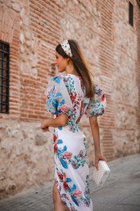 vestido bordado invitada boda