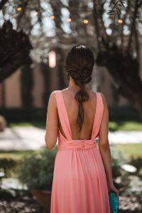 peinado trenza invitada novia
