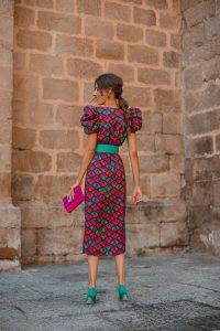 invitada perfecta vestido midi cruzado
