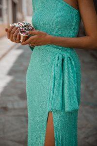 vestido largo lentejuelas boda