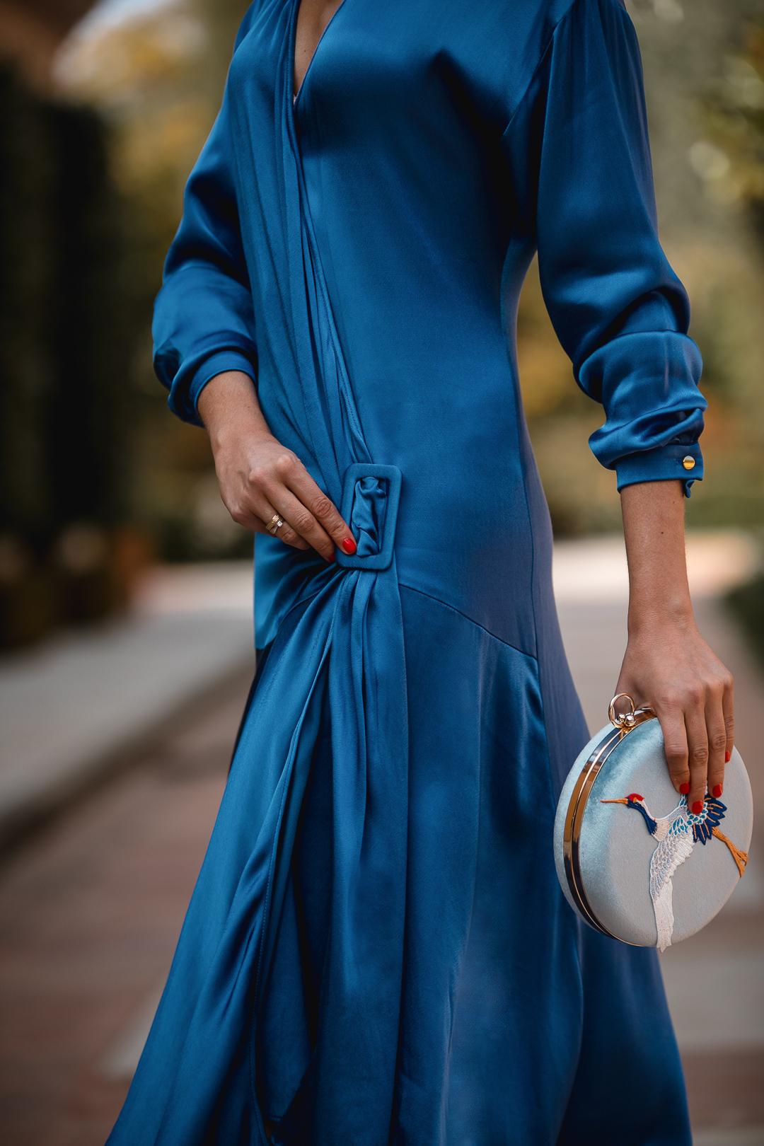 vestido azul lola li