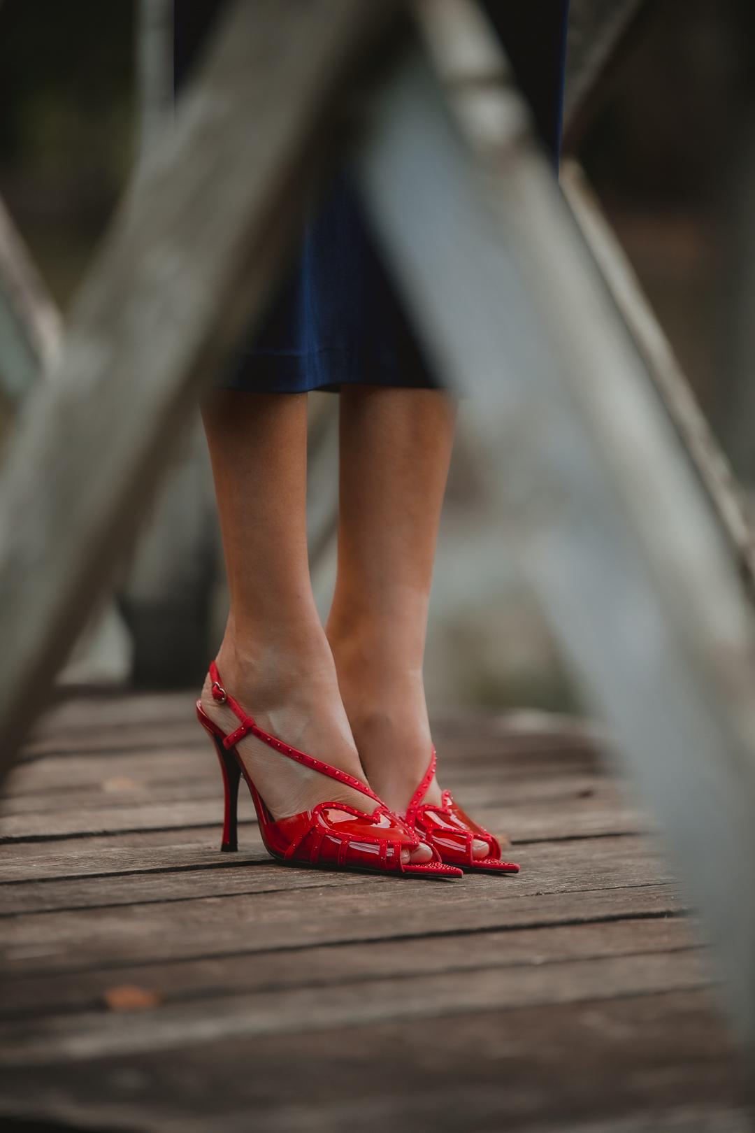 zapato rojo magrit invitada