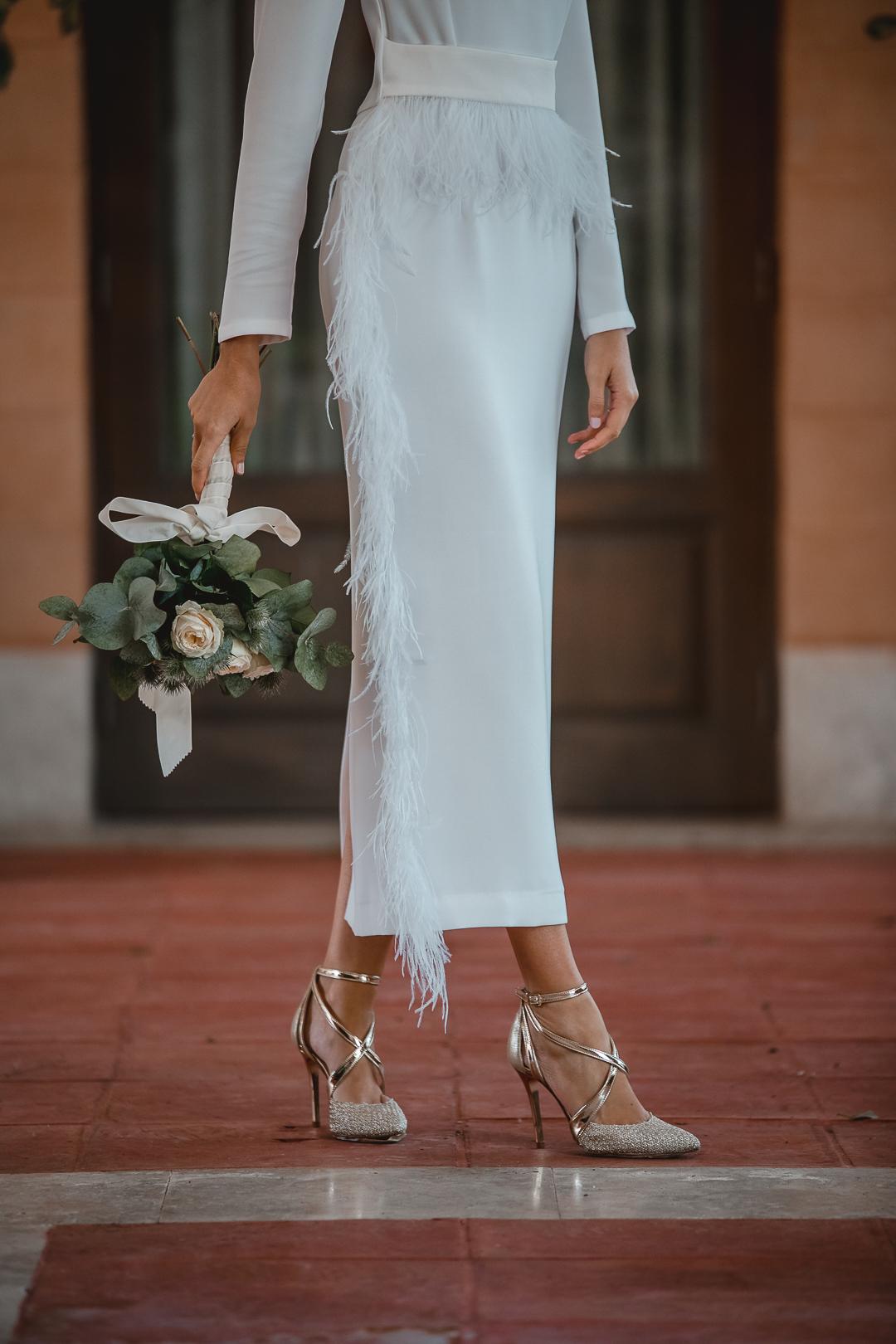 vestido novia barato