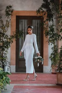 look novia civil invitada perfecta