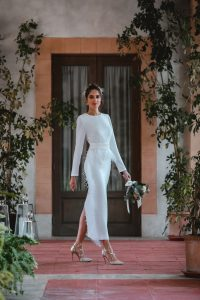 look novia civil invitada perfecta