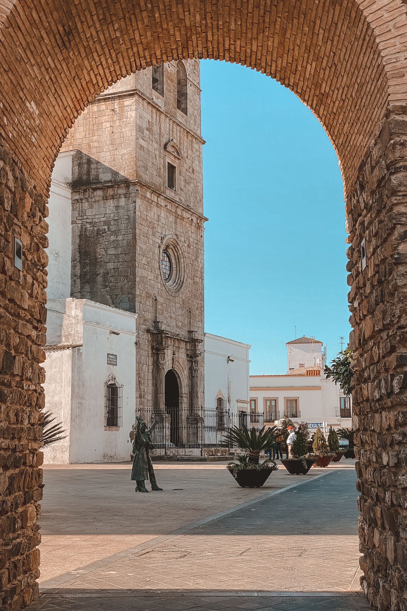 que ver Olivenza, Santa Maria Castillo