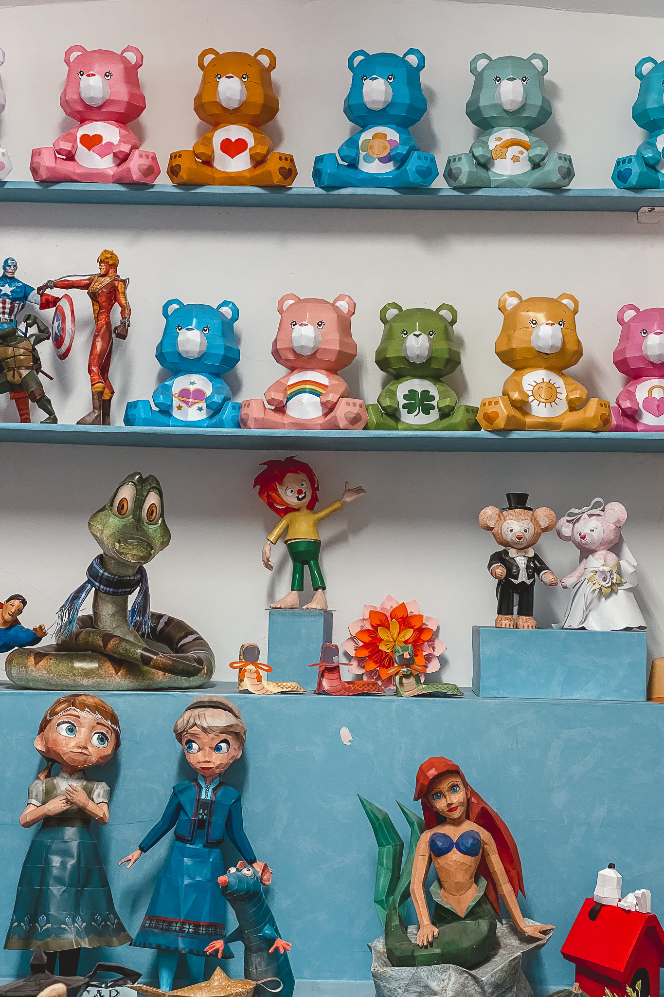 que ver olivenza, museo papercraft