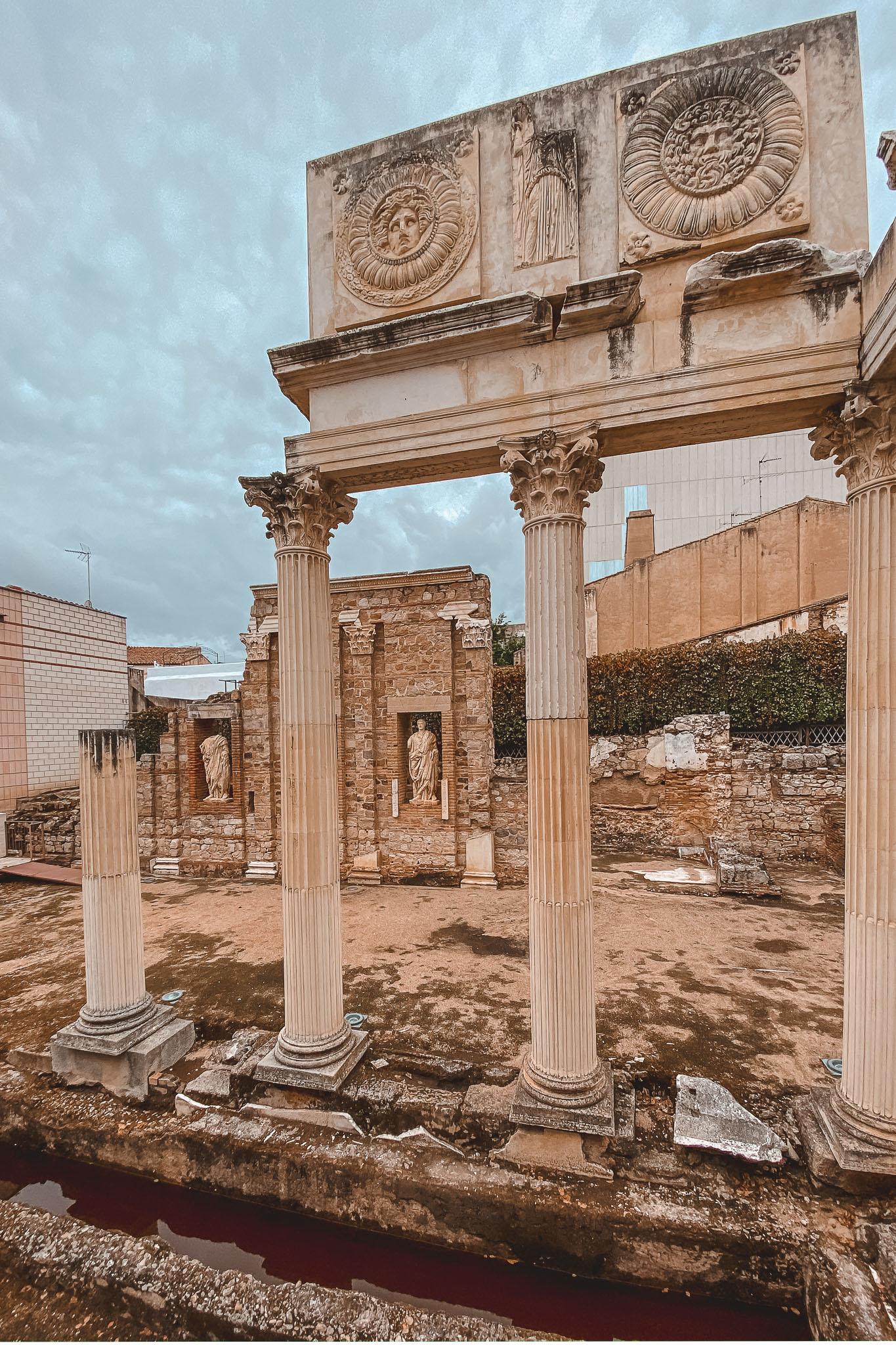 qué ver Mérida, foro romano