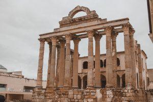 qué ver Mérida, Templo Diana
