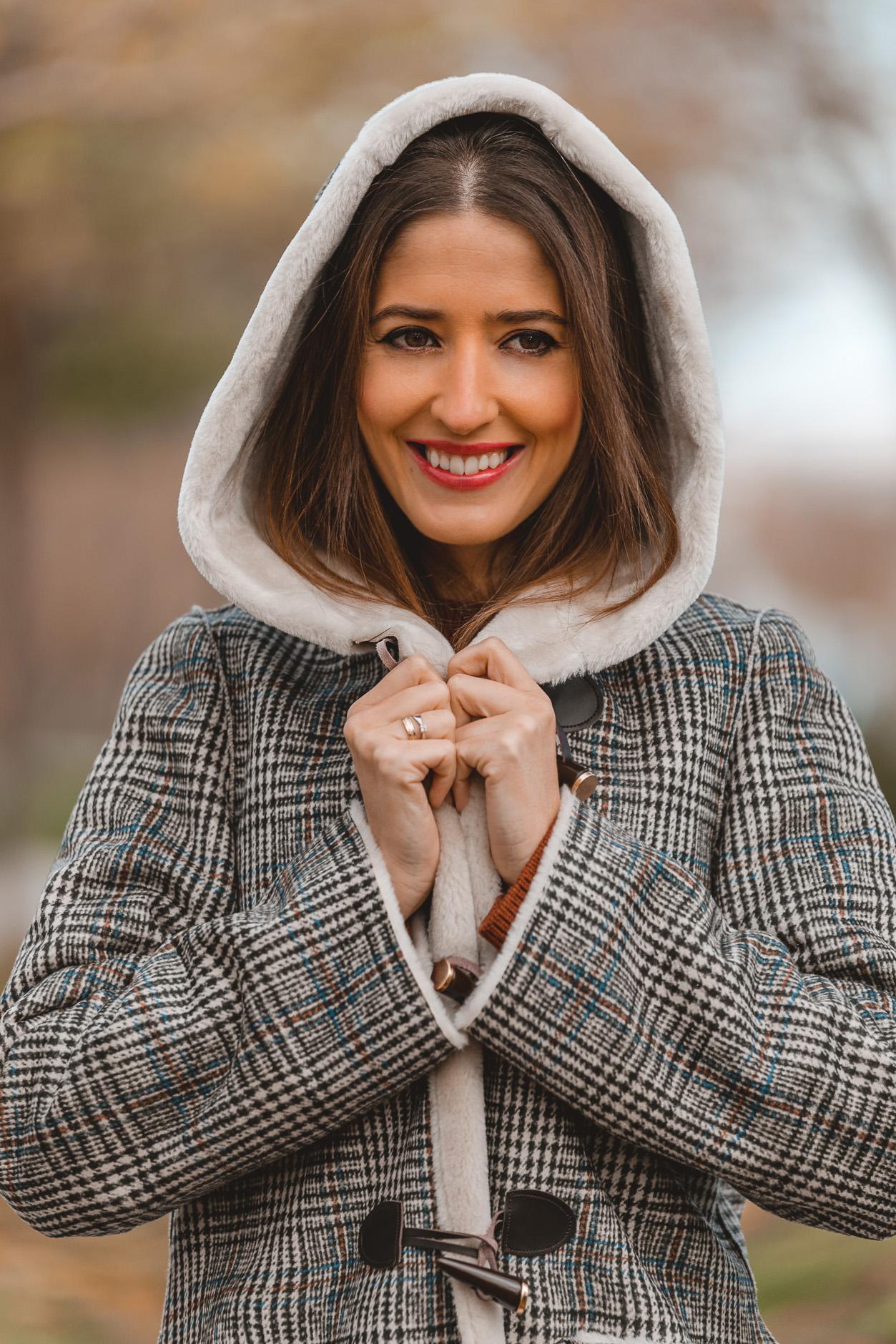 abrigo cortefiel invitada perfecta