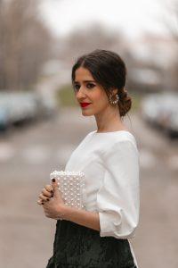bolso perlas invitada boda