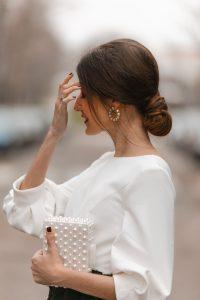 pendientes perla invitada