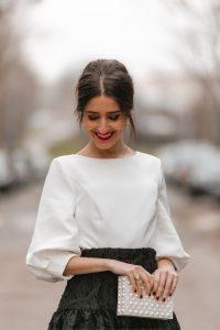 invitada perfecta blusa lazo
