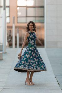 vestido zara lentejuela invitada perfecta